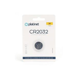 Platinet 1 ks Lithiová knoflíková baterie CR2032 BLISTER 3V