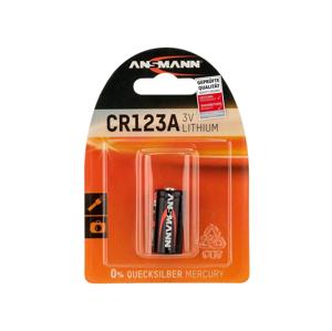 Baterie Ansmann CR123A 1 ks