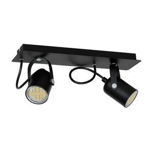 Luminex Bodové svítidlo MARK 2 2xGU10/40W černá
