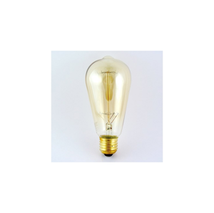 Baterie centrum Dekorační stmívatelná žárovka VINTAGE ST64 E27/40W/230V
