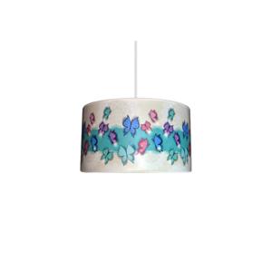 Lampdar Dětský lustr BUTTERFLY 1xE27/60W/230V