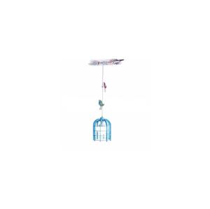 Alfex Dětský lustr na lanku 1xE27/60W/230V modrá