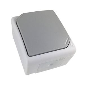 Solight Jednopólový vypínač do vlhkého prostředí IP54