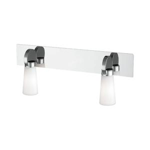 Prezent Koupelnové nástěnné svítidlo PEARL 2xG9/25W/230V IP44
