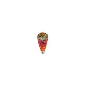 Polux LED 3D Dekorační žárovka ST64 E27/3,5W/230V