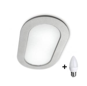 Philips LED Koupelnové podhledové svítidlo MYLIVING HUDDLE 1xE27/7W + 1xE27/12W