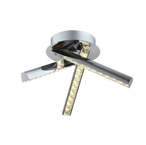 Auhilon LED Křišťálový přisazený lustr MONET 3xLED/5W/230V