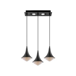 Venti LED Lustr 3xLED/9W/230V černá