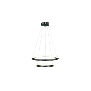Auhilon LED Lustr na lanku PLUTON LED/60W/230V černá