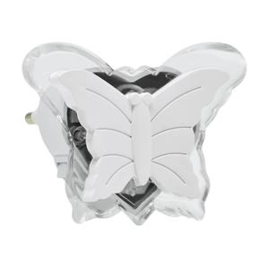 Polux LED Noční světlo do zásuvky 0,4W/230V bílý motýl