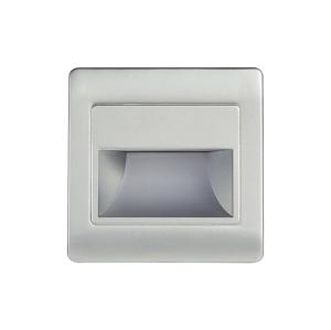 Emithor LED schodišťové svítidlo STEP LIGHT NET LED/1,5W/30V stříbrná