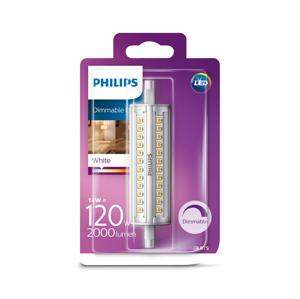 Philips LED Stmívatelná žárovka Philips R7s/14W/230V 3000K
