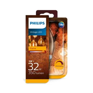 Philips LED Stmívatelná žárovka VINTAGE Philips B35 E14/5W/230V