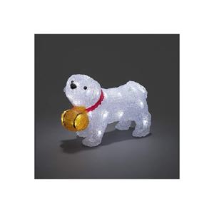 Exihand LED Venkovní vánoční dekorace DOG 32xLED/4xAA IP44