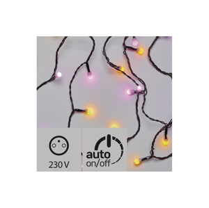 EMOS LED Venkovní vánoční řetěz CHERRY 40xLED/3,6W/230V IP44 4 m