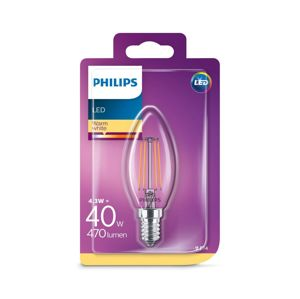 Philips LED Žárovka VINTAGE Philips E14/4,3W/230V 2700K