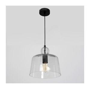 Luminex Lustr na lanku BELL 1xE27/60W/230V čirá