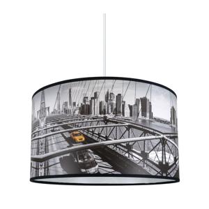 Lampdar Lustr na lanku CITY 1xE27/60W/230V