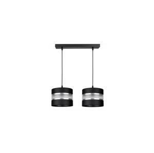 Belis Lustr na lanku CORAL 2xE27/60W/230V černá