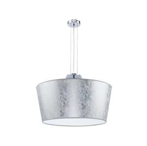 Duolla Lustr na lanku OPERA 3xE14/40W/230V stříbrná