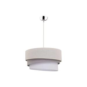 Duolla Lustr na lanku TRIO 1xE27/40W/230V světle šedá