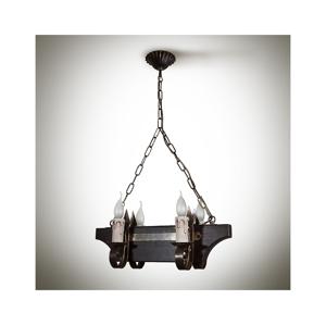 Light4home Lustr na řetězu GABRIEL 4xE14/40W/230V