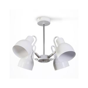 Light4home Lustr na tyči REFLECTOR 4xE27/60W/230V bílý
