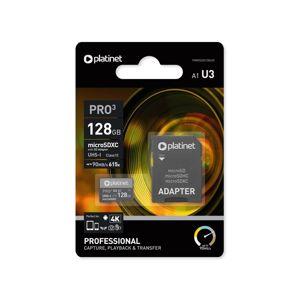 Platinet MicroSDHC 32GB U3 Pro 90MB/s + SD adaptér