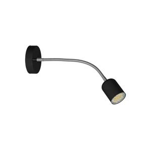 Decoland Nástěnná lampička MAXI 1xGU10/40W/230V černá