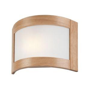 Lamkur Nástěnné svítidlo HALINA 1xE27/60W/230V dub