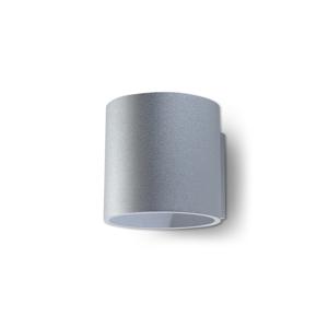 Sollux Nástěnné svítidlo ORBIS 1 1xG9/40W/230V šedá