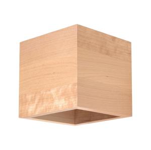 Sollux Nástěnné svítidlo QUAD 1xG9/40W/230V dřevo