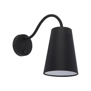 TK Lighting Nástěnné svítidlo WIRE BLACK 1xE27/60W/230V