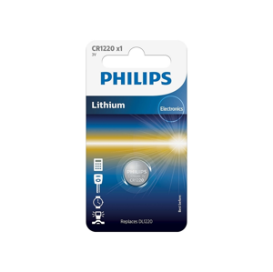Baterie Philips CR1220 1ks