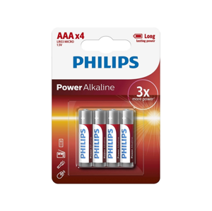 Baterie Philips Powerlife AAA 4ks