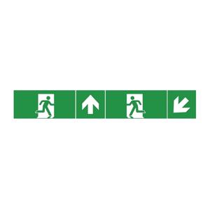 Greenlux Piktogram k nouzovému osvětlení 40x10 cm