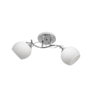 Helam Přisazený lustr COLBY 2xE27/60W/230V lesklý chrom