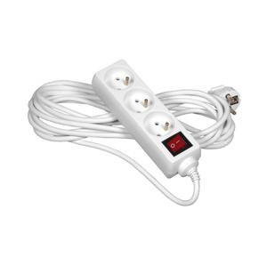 Elkov Prodlužovací kabel s vypínačem 3Z 10m