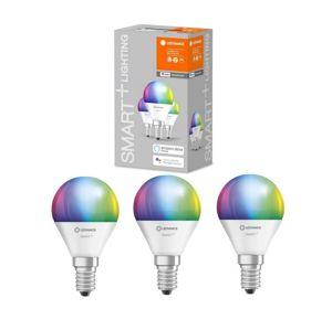 Ledvance SADA 3x LED RGBW Stmívatelná žárovka SMART+ E14/5W/230V 2700K
