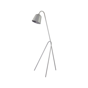 TK Lighting Stojací lampa LAMI 1xE27/60W/230V šedá