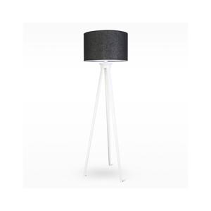 Light4home Stojací lampa TRION 1xE27/60W/230V bílé dřevo 167 cm