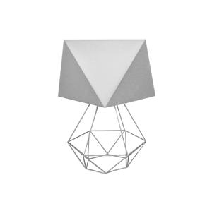 Helam Stolní lampa ADAMANT SMALL 1xE27/60W/230V šedá