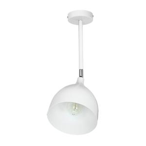 Luminex Stropní bodové svítidlo EVAN 1xE27/60W bílá