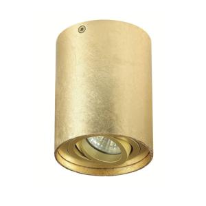 Auhilon Stropní bodové svítidlo TUBA NERO 1xGU10/50W/230V