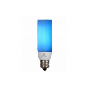 Lucide Úsporná žárovka COLORED E27/9W/230V modrá