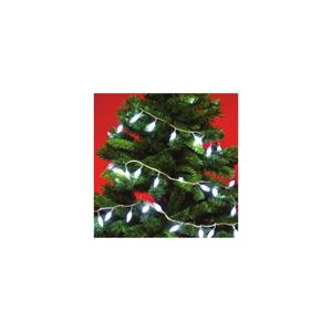 FK Technics Vánoční řetěz venkovní 8m 100xLED/230V IP44
