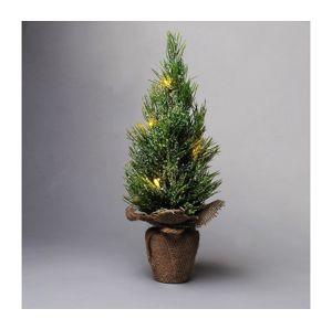 Exihand Vánoční stromeček 5xLED/2xAA 33cm IP44