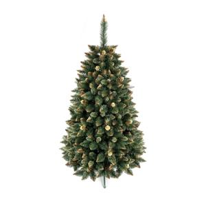 ANMA Vánoční stromek GOLD 120 cm borovice