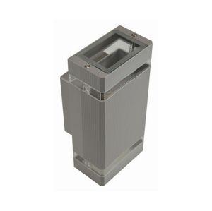 BOWI Venkovní nástěnné svítidlo LITEK 2xGU10/30W/230V IP44 šedá