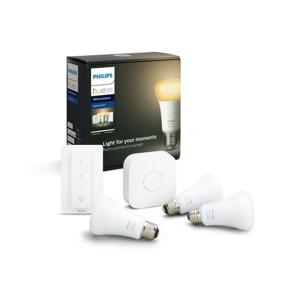 Philips Základní sada Philips HUE WHITE AMBIANCE 3xE27/8,5W + zařízení k propojení